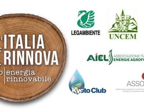 """10 gennaio 2020 – L'Italia che rinnova: """"Riscaldamento con legna e pellet ed emergenza polveri sottili: le soluzioni e le tecnologie ci sono, ma manca l'informazione"""""""