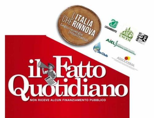 """1 febbraio 2020 – Sul """"Fatto Quotidiano"""" L'Italia che rinnova fa chiarezza sul fronte del riscaldamento"""